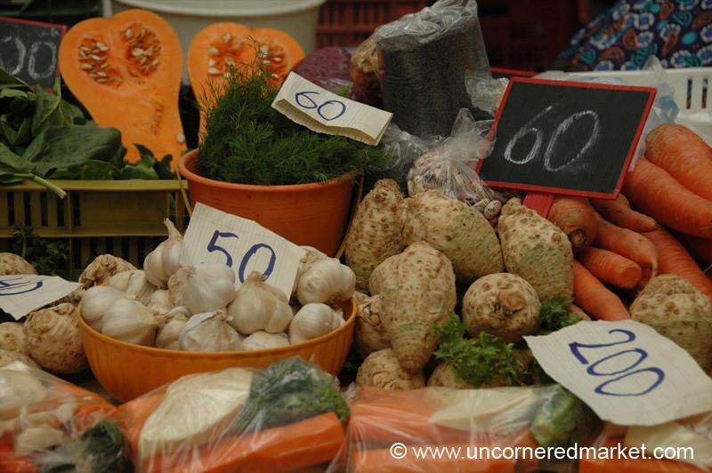 Hungarian Autumn Vegetables - Budapest, Hungary