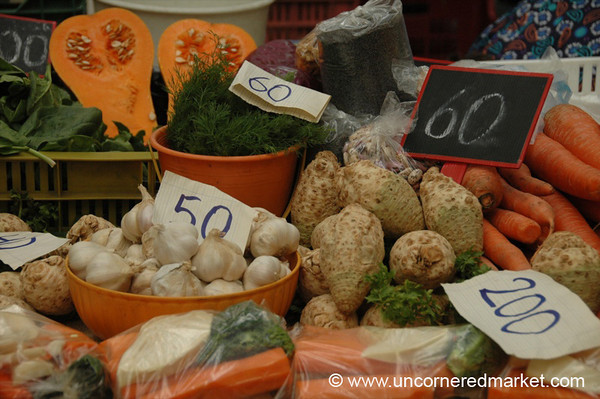 Hungarian Autumn Vegetables - Budapest, Hungary