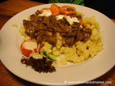 Mushroom and Paprika Gulash - Budapest, Hungary