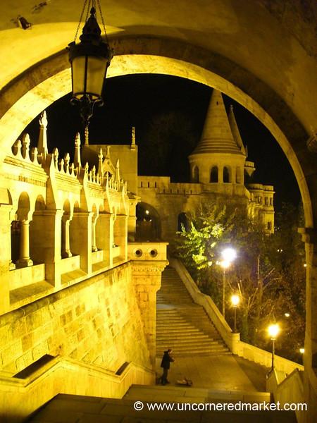 Buda Castle at Night - Budapest, Hungary