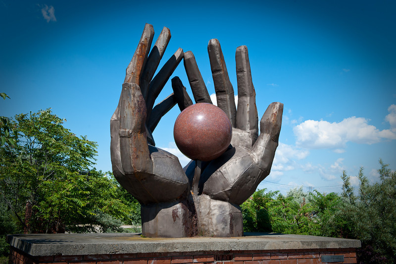 Workers Hands - Once had a Red Star on the Sphere