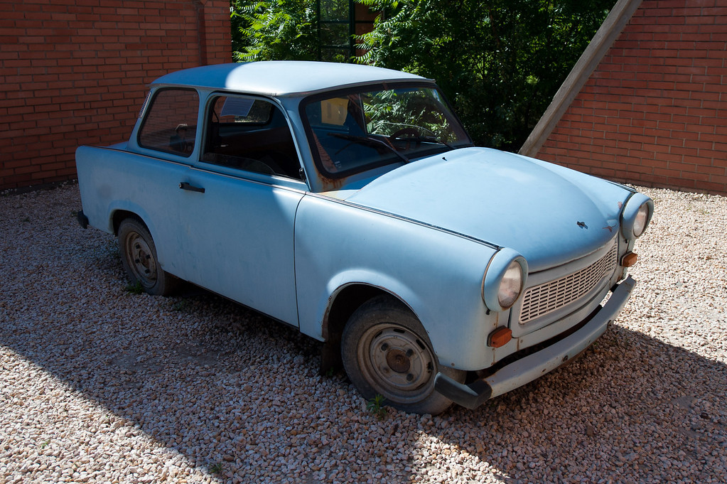 "The Classic Trabant or ""Commie-mobile"""