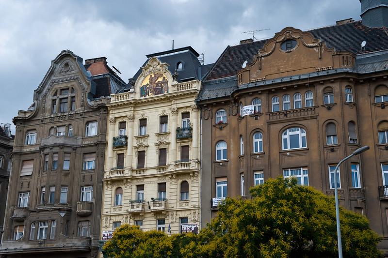 Fasades Along Andrassy Street