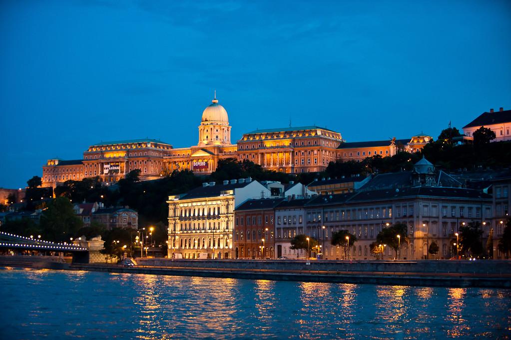 Royal Palace at Twilight