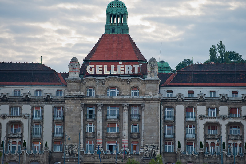 Historic, Swanky Gellert Thermal Baths