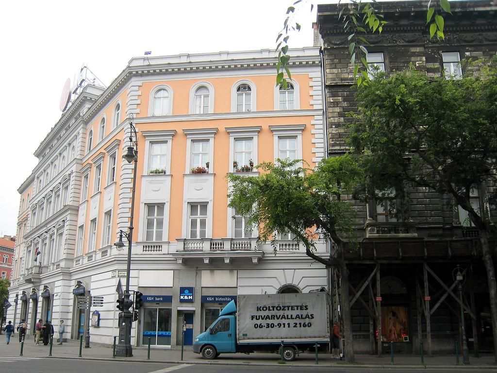 Building Restoration, Budapest