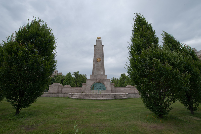Solviet Monument ( Only One Left Standing)