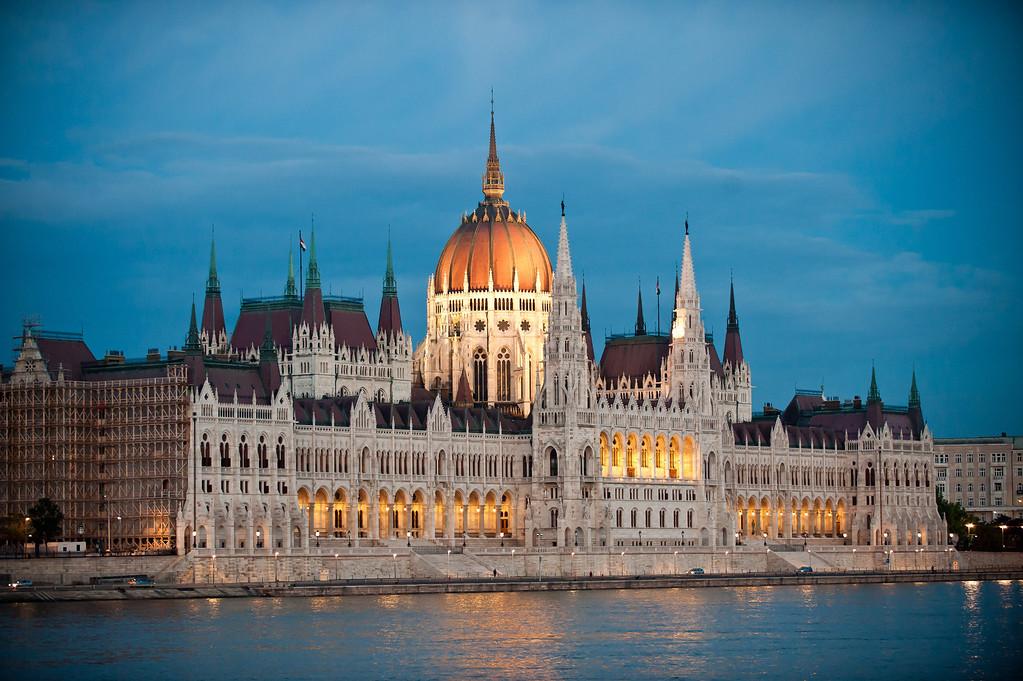 Hungarian Paralment a Dusk