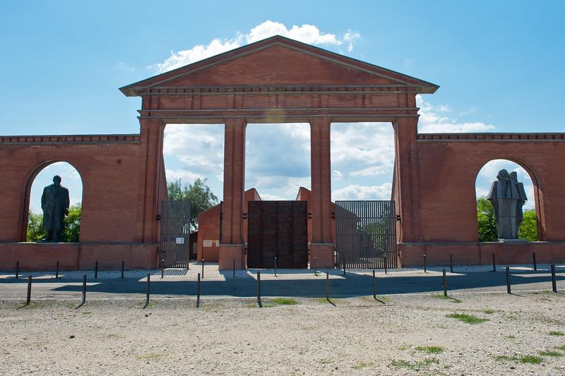 Main Entrance to Statue & Memento Park