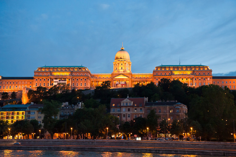 Royal Palace at Twilight