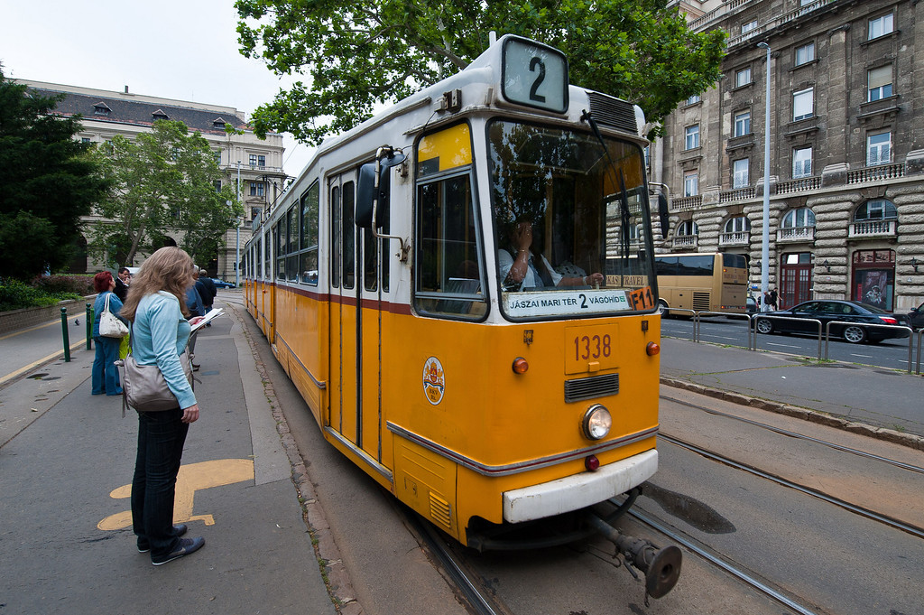 Budapest Tram - Easy, Quick, Clean, Frequent
