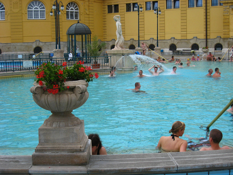 Szechenyi Baths - circa 1896