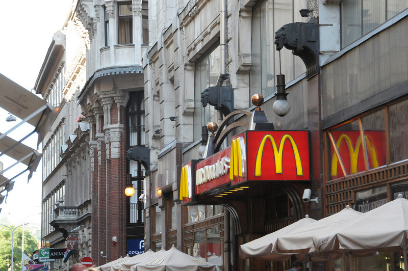 The first McDonald's in a Communist Country