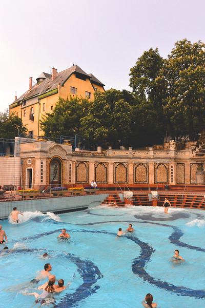 Gellért Thermal Bath. May 2016