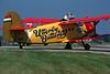 HA-MEP WZL-PZL An-2R c/n 1G190-25 Fairford/EGVA/FFD 19-07-97 (35mm slide)