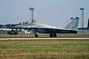 "25 Mikoyan-Gurevich MiG-29UB Fulcrum ""Hungarian Air Force"" c/n N50903027146 Fairford/EGVA 25-07-99 (35mm slide)"