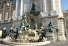Budapest - Castle Hill - Royal Palace - Fountain