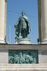 Budapest - Hero's Square - King Laszlo