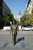 Budapest - Szabadsag Square - Reagan Statue