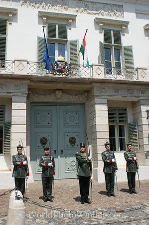 Budapest - Castle Hill - President's Office