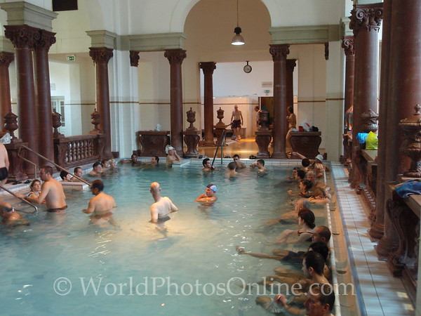 Budapest - Szachenyi Bath - Interior