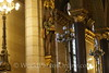 Budapest - Parliament Building - Main Staircase Statue
