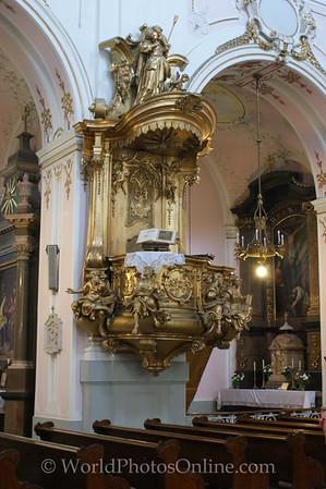 Kalocsa - Archiepiscopal Cathedral - Pulpit