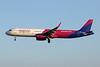 HA-LXH Airbus A321-231 c/n 7217 Charleroi/EBCI/CRL 06-09-20