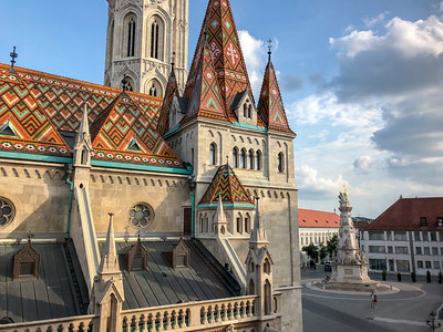 Matthias Church in Budapest