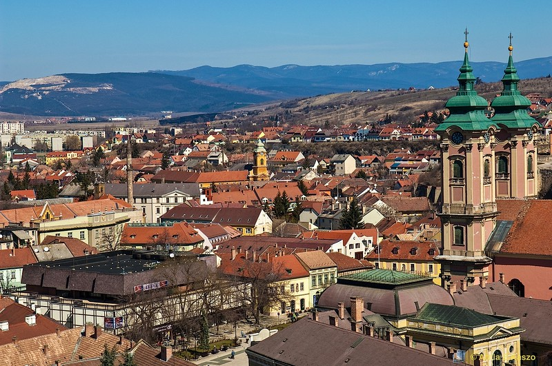 Cityscape - Eger, Hungary