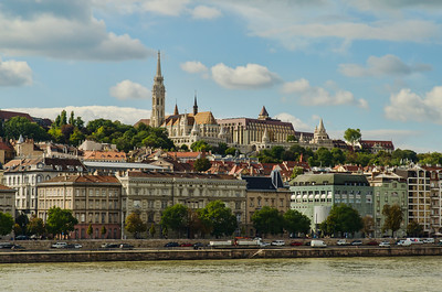 Castle Hill, Fisherman's Bastion amd Mattjoas Church, Buda