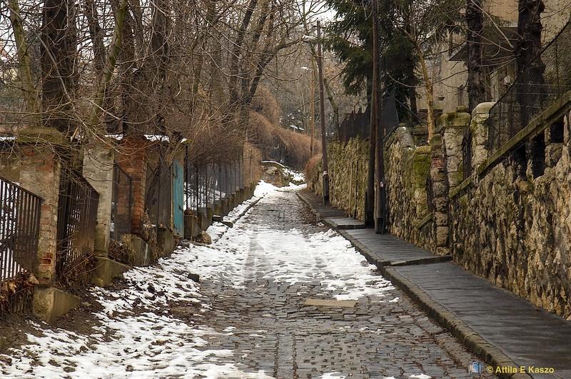 Gellert Hill Streetscape, Buda, Hungary