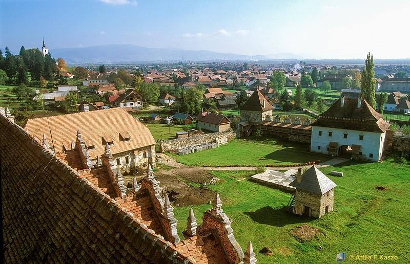 Village View<br /> Gyergyoszentmiklos, Transylvania (Erdely), Romania