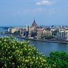 City view to Pest with Parliament House<br /> Budapest (Buda), Hungary