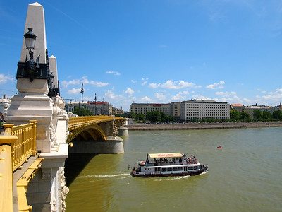 The Danube in Budapest, Hungary