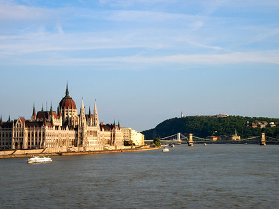 Hungarian Parliament building on the Danube