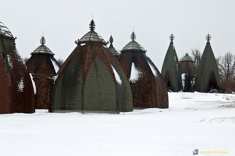 Replica Magyar settlement <br /> Opusztaszer, Hungary