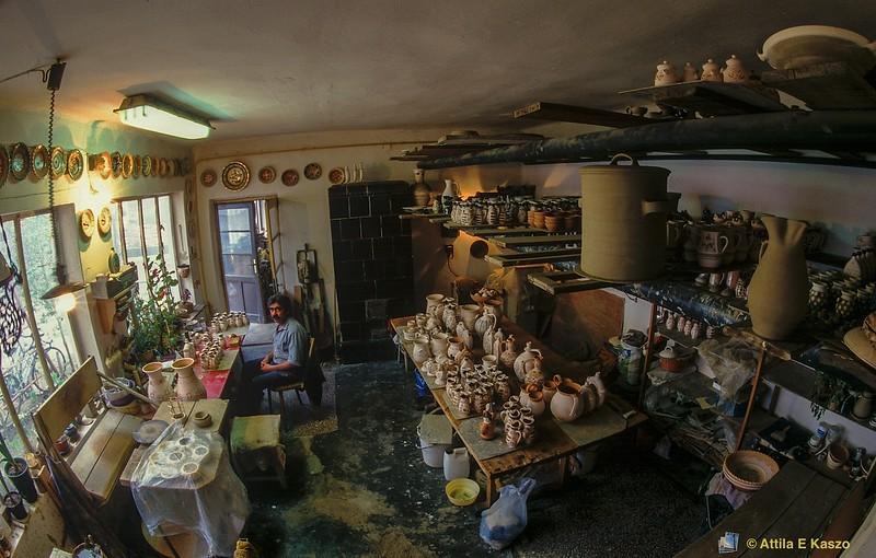 Potter - Imre Szucs <br /> Tiszafured, Hungary