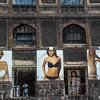 Streetscape / Advertising, Budapest, Hungary