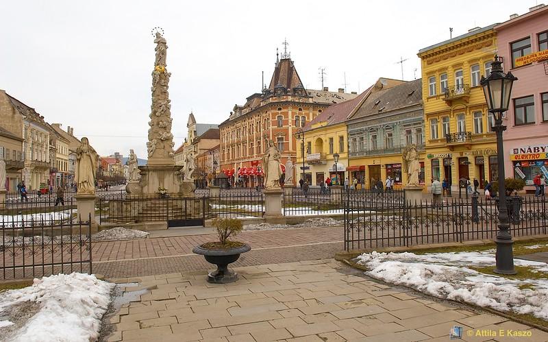 Streetscape - Kosic (Kassa), Slovakia