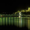 Castle - Chain Bridge - Night<br /> Budapest, Hungary<br /> 700-28-582