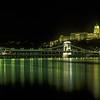 Castle - Chain Bridge - Night<br /> Budapest, Hungary<br /> 700-28-582