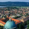 Basilica View NW to City<br /> Esztergom, Hungary