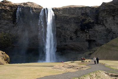 Seljalandfoss...you can walk behind this one...