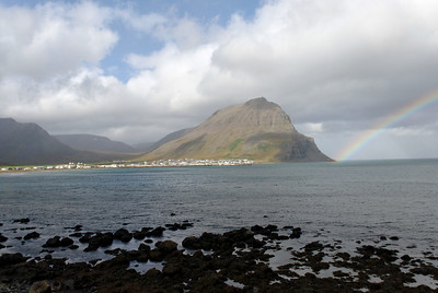 West Fjords - View of Bolungarvik