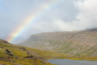 West Fjords - Road towards Dynjandi falls