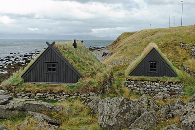 West Fjords - Bolungarvik - Fishermen's huts