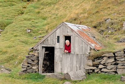 West Fjords - Outbuilding of farm - not quite abandoned