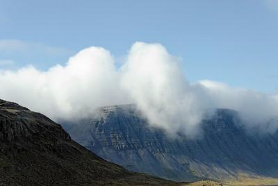 West Fjords - Mountains south of Dynjandisvogur fjord