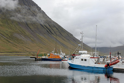 West Fjords - Fishing boats at Isafjoerdur